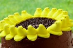 Peeps-Sunflower-Cake